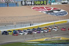 NASCAR: Am 2. März Boyd Gaming 300 lizenzfreies stockbild