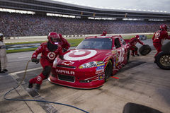 NASCAR: Móbil 500 de abril 09 Samsung imagem de stock royalty free