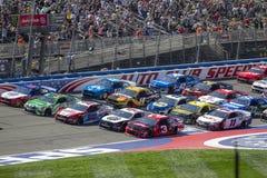 NASCAR: 17 maart Autoclub 400 royalty-vrije stock foto's