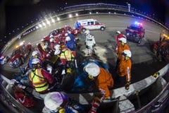 NASCAR: Maj 13 går bowla 400 Royaltyfri Bild