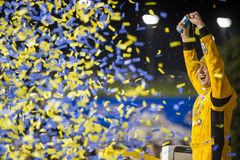 NASCAR: Maj 07 GoBowling com 400 Royaltyfria Bilder