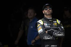 NASCAR: Maj 11 KC mästerverk 400 Arkivbild
