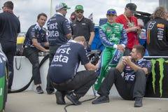 NASCAR: Maj 11 KC mästerverk 400 Arkivbilder