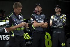 NASCAR: Maj 11 KC mästerverk 400 Fotografering för Bildbyråer