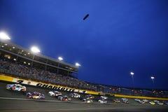 NASCAR: Maja 27 koka-kola 600 Obrazy Royalty Free