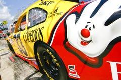 NASCAR - mano amica di #33 Boywer Fotografie Stock