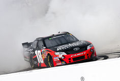NASCAR: Março 19 Kyle Busch (18) Fotografia de Stock