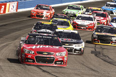 NASCAR:  Mar 22 Auto Club 400 Royalty Free Stock Photography