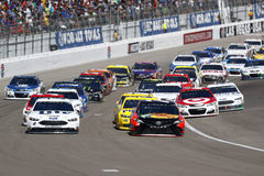 NASCAR: March 12 Kobalt 400 Royalty Free Stock Images