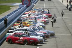 NASCAR: March 16 Production Alliance Group 300 stock image