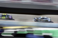 NASCAR: March 10 Ticket Guardian 500. March 10, 2019 - Avondale, Arizona, USA: Aric Almirola (10) battles for position for the Ticket Guardian 500 at ISM Raceway stock photography
