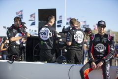 NASCAR: March 08 Ticket Guardian 500. March 08, 2019 - Avondale, Arizona, USA: Kurt Busch (1) gets ready to qualify for the Ticket Guardian 500 at ISM Raceway in stock image