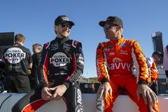 NASCAR: March 08 Ticket Guardian 500. March 08, 2019 - Avondale, Arizona, USA: Kurt Busch 1 gets ready to qualify for the Ticket Guardian 500 at ISM Raceway in stock photos