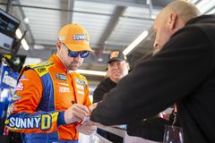 NASCAR: March 08 Ticket Guardian 500. March 08, 2019 - Avondale, Arizona, USA: Ricky Stenhouse, Jr 17 gets ready to practice for the Ticket Guardian 500 at ISM stock images