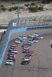 NASCAR: March 10 Ticket Guardian 500. March 10, 2019 - Avondale, Arizona, USA: Ryan Blaney 12 leads the field during the Ticket Guardian 500 at ISM Raceway in stock images