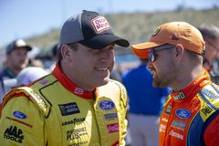 NASCAR: March 10 Ticket Guardian 500. March 10, 2019 - Avondale, Arizona, USA: Ryan Newman 6 takes to the track for the Ticket Guardian 500 at ISM Raceway in royalty free stock image