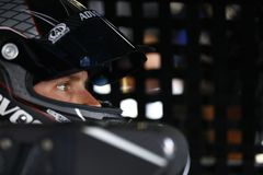 NASCAR: March 10 Ticket Guardian 500k. March 10, 2018 - Avondale, Arizona, USA: Trevor Bayne 6 straps into his car to practice for the Ticket Guardian 500k at royalty free stock photo