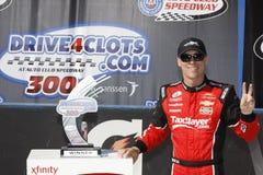 NASCAR : 21 mars Drive4Clots COM 300 Photos libres de droits