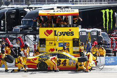 NASCAR : 12 mars Kobalt 400 Photos libres de droits