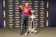 NASCAR: Mars 16 matstad 500 Royaltyfria Foton