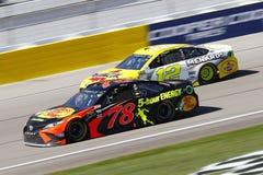 NASCAR: Mars 04 Pennzoil 400 Royaltyfri Bild