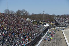 NASCAR: Mars 26 STP 500 Royaltyfri Fotografi