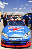 NASCAR - Martin S 5 Awaiting Inspection Stock Image