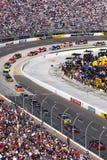 NASCAR - Martinsville - volgt de Auto van het Tempo Stock Afbeelding