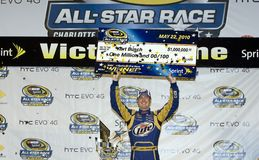 NASCAR:  May 22 NASCAR Sprint Cup All-Star Race Royalty Free Stock Images