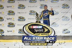 NASCAR:  May 22 NASCAR Sprint Cup All-Star Race Royalty Free Stock Photos