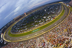 NASCAR:  May 30 Coca-Cola 600. CONCORD, NC - May 30, 2010:  Charlotte Motor Speedway plays host to the longest NASCAR Sprint Cup race of the season for the Stock Image