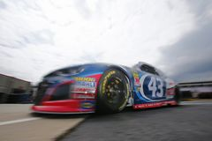 NASCAR: May 24 Coca-Cola 600. May 24, 2018 - Concord, North Carolina, USA: Darrell Wallace, Jr 43 heads out to practice for the Coca-Cola 600 at Charlotte Motor stock photo