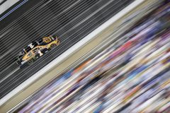 NASCAR: May 26 Coca-Cola 600. May 26, 2019 - Concord, North Carolina, USA: Kurt Busch 1 races off the turn during the Coca-Cola 600 at Charlotte Motor Speedway royalty free stock images