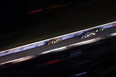NASCAR: May 26 Coca-Cola 600. May 26, 2019 - Concord, North Carolina, USA: Kurt Busch 1 races off the turn during the Coca-Cola 600 at Charlotte Motor Speedway stock image