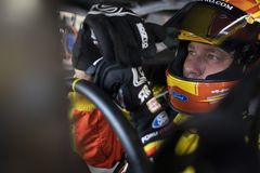 NASCAR: May 25 Coca-Cola 600. May 25, 2019 - Concord, North Carolina, USA: Ryan Newman 6 gets ready to practice for the Coca-Cola 600 at Charlotte Motor Speedway royalty free stock photo