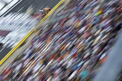 NASCAR: May 27 Coca-Cola 600. May 27, 2018 - Concord, North Carolina, USA: Jamie McMurray 1 races down the front stretch during the Coca-Cola 600 at Charlotte stock photos