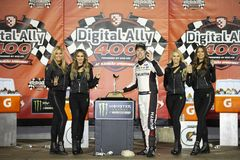 NASCAR: May 11 Digital Ally 400 stock images