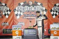 NASCAR: May 11 Digital Ally 400 stock image