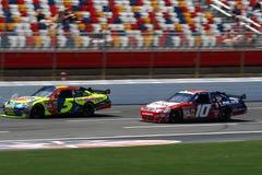 NASCAR - Mears afila Carpentier Imagen de archivo libre de regalías