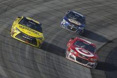 NASCAR: 15 mei AMERIKAANSE CLUB VAN AUTOMOBILISTEN 400 Profiterend Autisme spreekt Royalty-vrije Stock Foto's