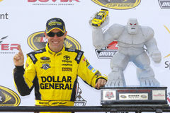 NASCAR: 15 mei AMERIKAANSE CLUB VAN AUTOMOBILISTEN 400 Profiterend Autisme spreekt Royalty-vrije Stock Afbeelding