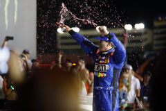 NASCAR: 20 mei het Ras van de Monsterenergie NASCAR All Star Royalty-vrije Stock Foto