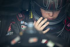NASCAR: 04 mei OneMain Financiële 200 royalty-vrije stock foto