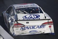 NASCAR: Menino mau do 25 de setembro fora da estrada 300 Imagem de Stock Royalty Free