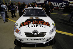 NASCAR - Michael Waltrips Red vaggar cafen all stjärna Arkivfoton