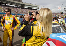 NASCAR Miss Sprint Cup at Phoenix International Raceway Royalty Free Stock Images