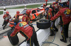 NASCAR : Mobile 500 du 19 avril Samsung Photos stock