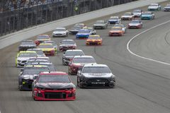 NASCAR: Mondo di campeggio 400 del 30 giugno immagine stock