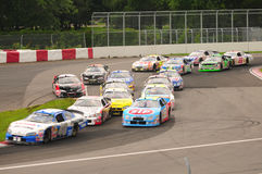 nascar montreal quebec canada Royalty Free Stock Photos
