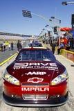 NASCAR - Movimentação de #24 de Gordon para terminar a fome Chevy Imagens de Stock